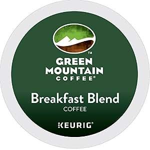 Green Mountain Coffee Breakfast Blend Keurig Single-Serve K-Cup Pods, Light Roast Coffee, 24 Count
