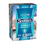 Scotties Lotion Facial Tissue, 3-ply, 70 sheets per box - 6 Pack