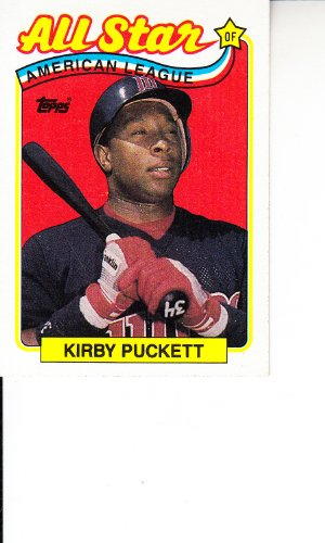 1989 Topps Baseball #403 Kirby Puckett Minnesota Twins All Star ()