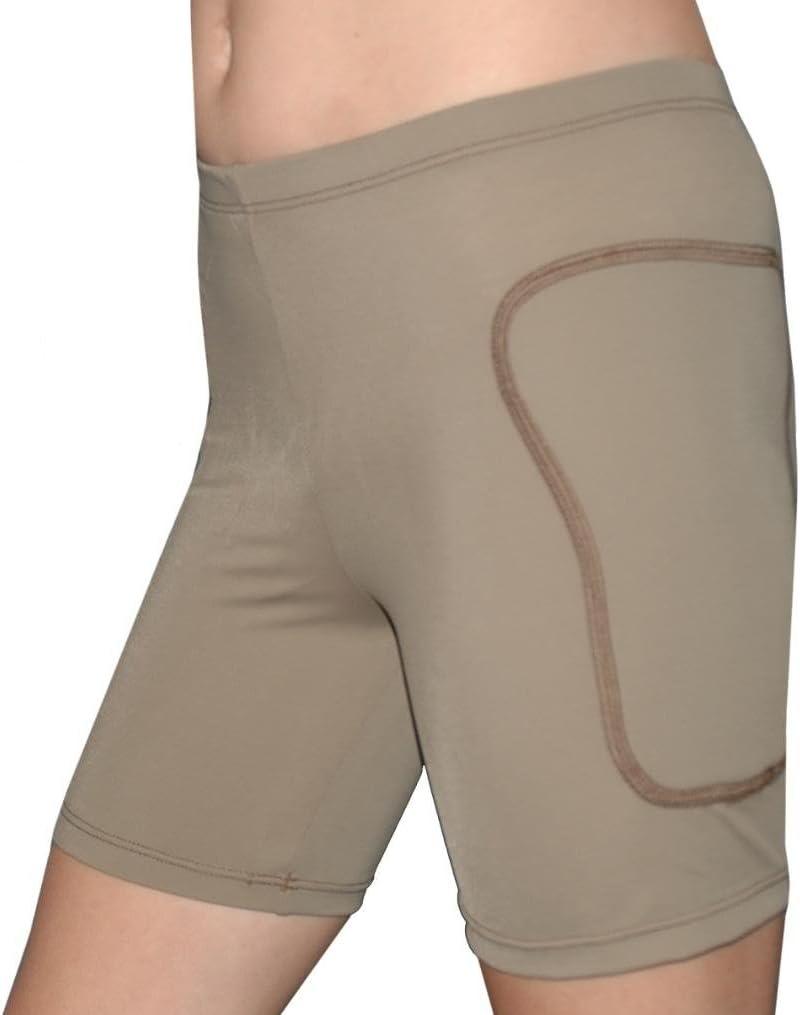5 Inch Inseam Solids Tuga Girls//Women Padded Slider Sports Shorts