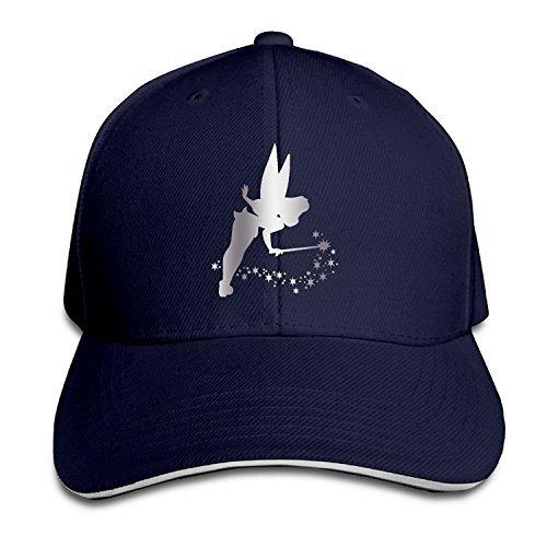 - KMRR Tinkerbell Platinum Style Flex Baseball Cap Navy