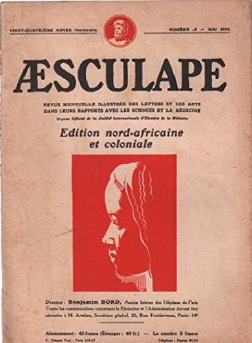 Aesculape / edition nord -africaine et coloniale / mai 1934 / ameline: la grossesse dans la religion egyptienne