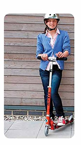 Micro Sprite 2-Wheeled, Smooth-Gliding, Foldable Micro Scooter for Kids Ages 8 to Adult