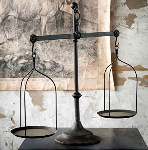 Decorative Antique Iron Balance Scale Replica ()