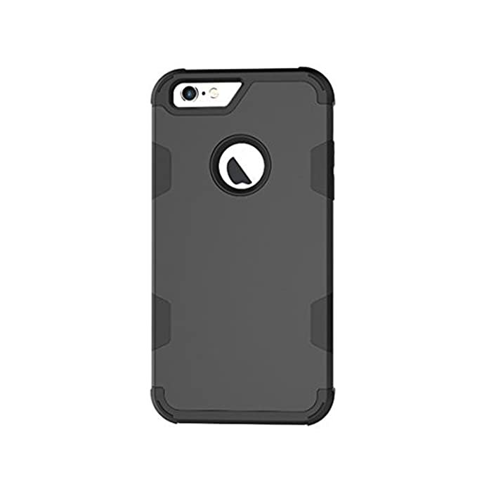 Wouier Carcasa iPhone 6/6s, [360 ° ] Luxury 2 en 1 PC Hard Híbrido Defender Carcasa Duro Prueba de Case Cover para iPhone 6 6s