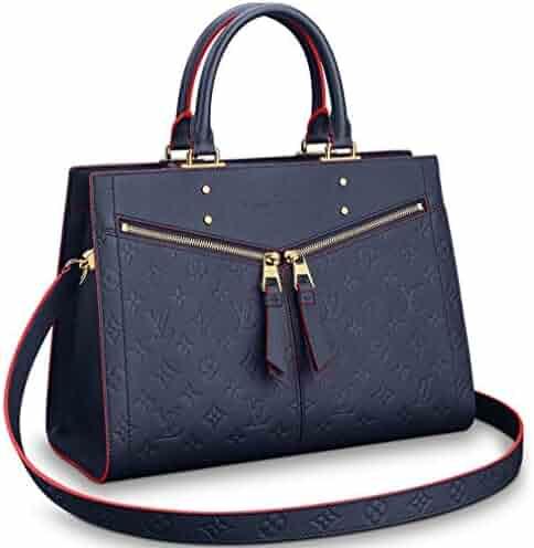 0167d2225355 Louis Vuitton Monogram Empreinte Leather Zipped Handbag Sully MM Article   M54271