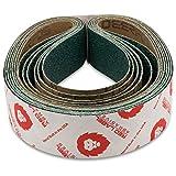 2 X 42 Inch Zirconia Grinding/Sanding Belt, 6 Pack