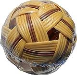 RaanPahMuang Striped Takraw Ball Thai Team Sport Plastic Footsack Ball