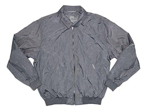 Weatherproof Garment Co. Men's Limited Edition Nylon Golf Jacket (L, Graphite) -