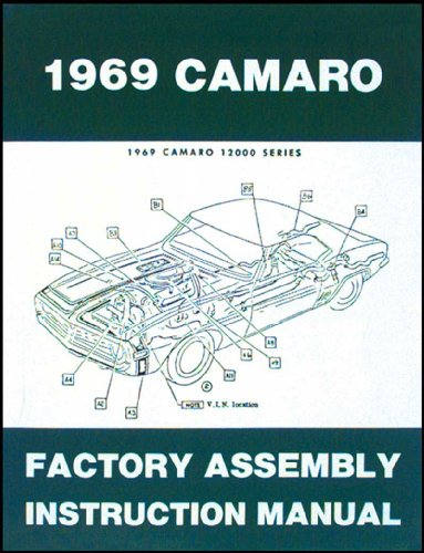 - 1969 Camaro Factory Assembly Manual 69 (with Bonus Decal)