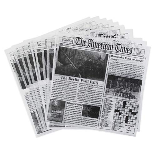 Newsprint Dry Wax Paper Deli Wrap and Basket Liner (American Newsprint 12x12, pack of 50) (Eve Christmas Tamales)