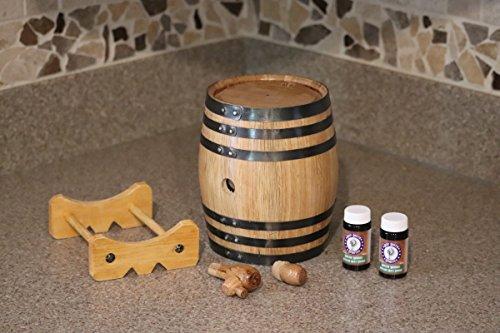 1-Liter American White Oak Barrel Whiskey Kit by Deep South Barrels (Image #6)