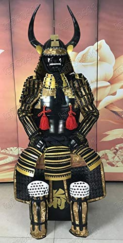 Traje De Armadura Japonés Usable Réstung Samurai Dorado ...