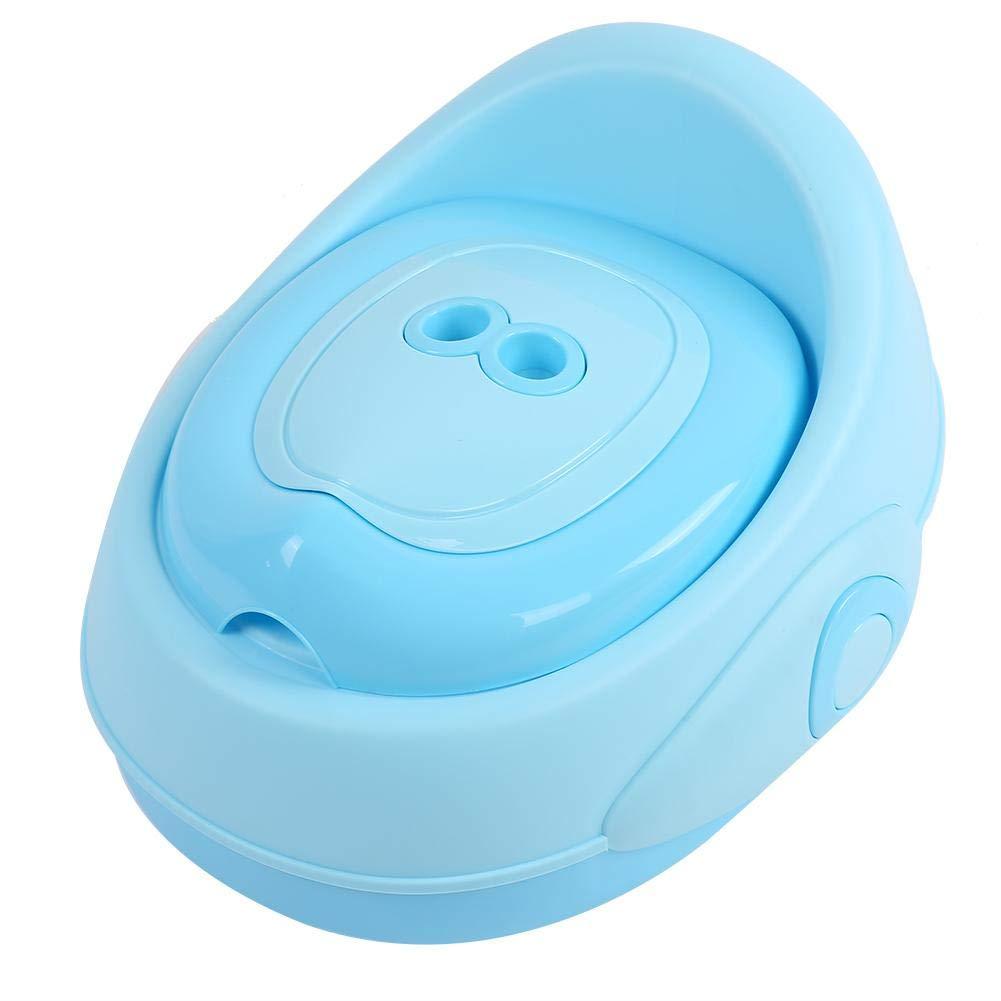 Trainingsstuhl Sauberkeit f/ür Kinder mit R/ückenlehne 3 Farben zur Auswahl Toilettensitz f/ür Babys