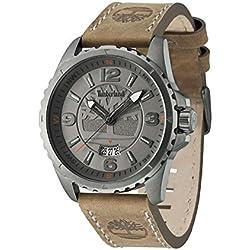 Timberland 14531JSU-13 Mens Walden Brown Leather Strap Watch