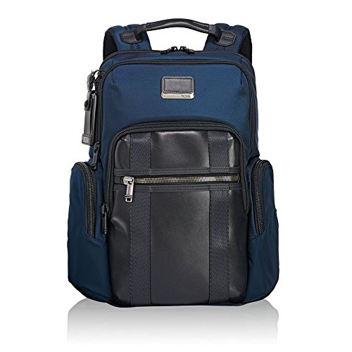 (TUMI - Alpha Bravo Nellis Laptop Backpack - 15 Inch Computer Bag for Men and Women - Navy)