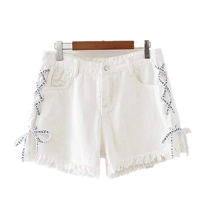 Pantalones Cortos para Mujer Grandes Chicas Jeans Tallas ...