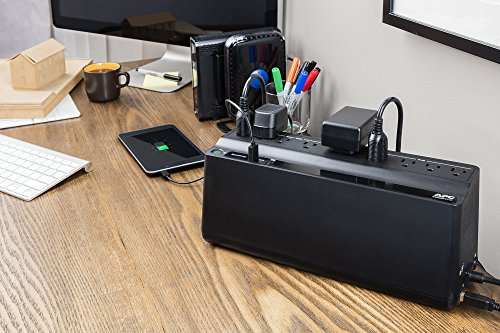 APC Back UPS 850VA UPS Battery Backup Surge Protector together with USB Charging Ports BE850M2 Uninterrupted electricity Supplies