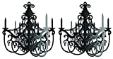 Party in Paris Hanging Chandelier - 2 Pack