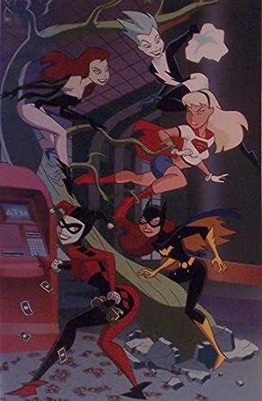 Dc Comics Animated Batman Art Print Featuring Harley Quinn Poison