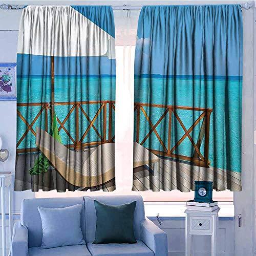 rod pocket drapes and curtain 55