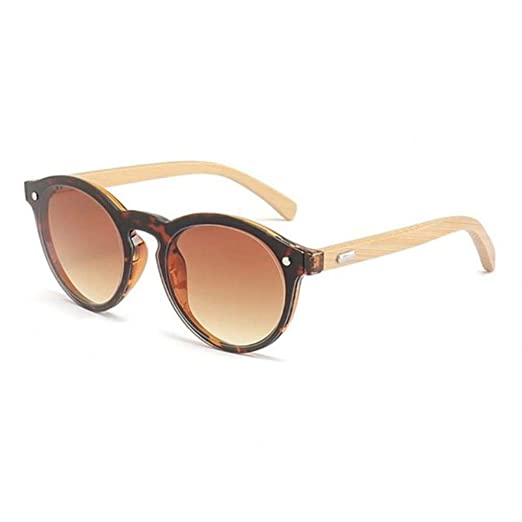 Sxcyu Gafas de Sol de bambú clásicas Gafas de Sol de Madera ...