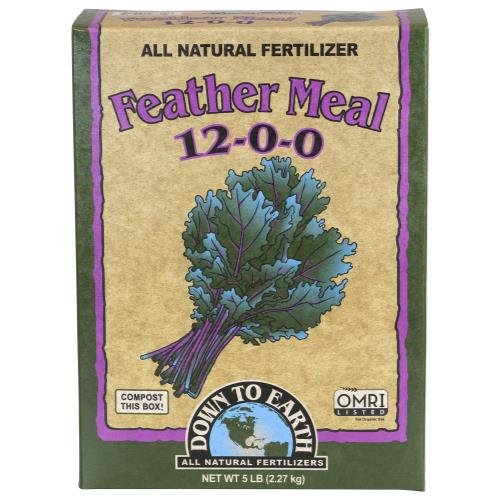 Down To Earth Feather Meal - 5 lb (Multipack of 2)
