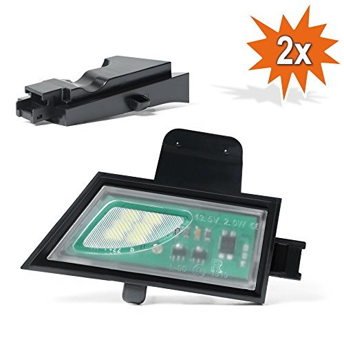 2x Do!LED D22 LED SMD Umfeldbeleuchtung Spiegelleuchte Umgebungslicht mit E Pr/üfzeichen