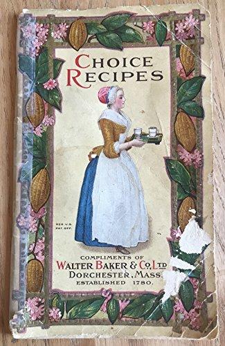 Choice Recipes. Chocolate and Cocoa Recipes, Home made candy recipes