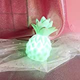 KathShop High Power Bright Desk Table Decor Night Lamp Creative Night Lights Pineapple Led Lamp Soft Silicone Toy Gift Light