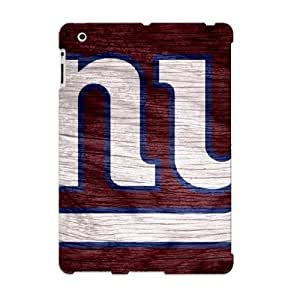 Crooningrose High-quality Durability Case For Ipad 2/3/4(new York Giants Red Weathered Wood)
