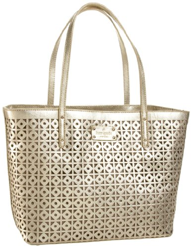 Kate Spade Garden Place Small Coal Tote,Gold,one size (Kate Spade Coal)