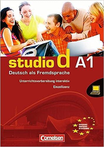 Studio D A1 Unterrichtsvorbereitung interaktiv auf CD-ROM