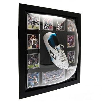 Newcastle United F.C. Shearer unterzeichnet Boot (gerahmt) Geschenke - und - Karten - Geschenk - Idee Anlass - Geschenk