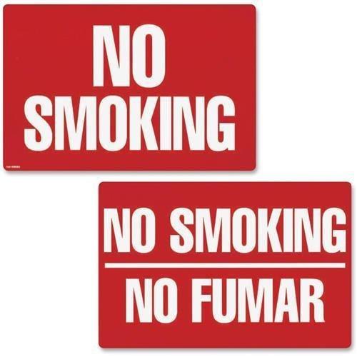 Cosco cartel no fumar no fumar 8 x 12 (098068): Amazon.es ...