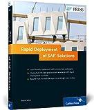 Rapid Deployment of SAP Solutions, Welz, Bernd and Hänisch, Stefan, 1592299105