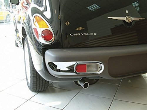 (PT Cruiser REAR Bumper Trim ONLY 2PC 2001, 2002, 2003, 2004, 2005)