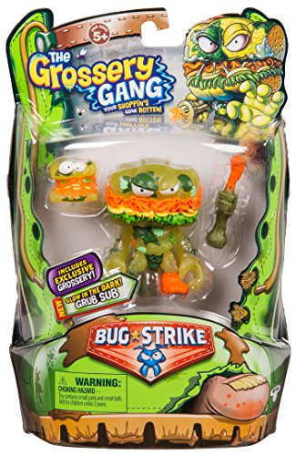 Grossery Gang The S4 Bug Strike Action Figure - Grub Sub