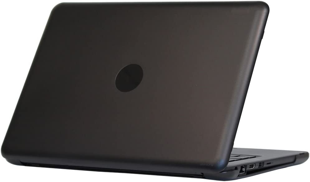 "mCover Hard Shell Case for 2019 13.3"" Dell Latitude 13 3300 Education Series Laptop Computers Released After Feb. 2019 (Black)"