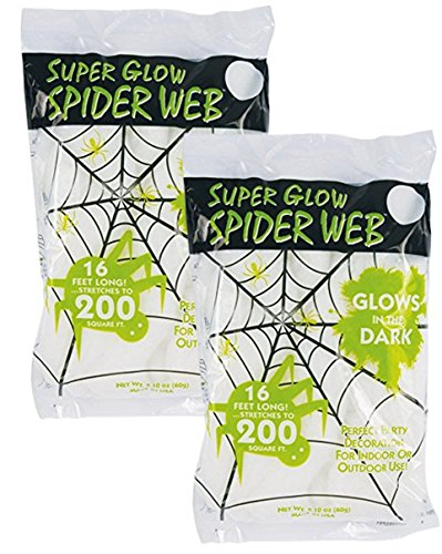 Glow In The Dark Spider Web - 9