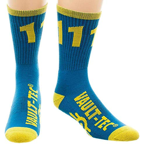 64d619909 Crew Socks - Fallout - Vault 111 New Licensed cr3ib5fof