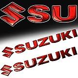 suzuki samurai emblem - (Pack of 2) 5.75