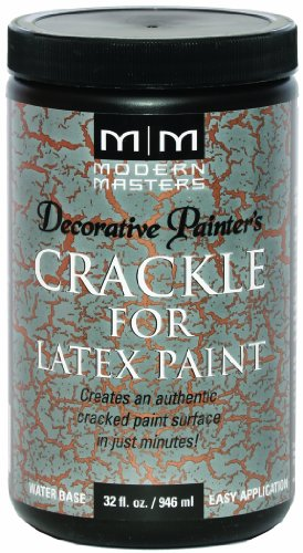 Modern Masters Dp601 32 Crackle For Latex Paint  32 Ounce