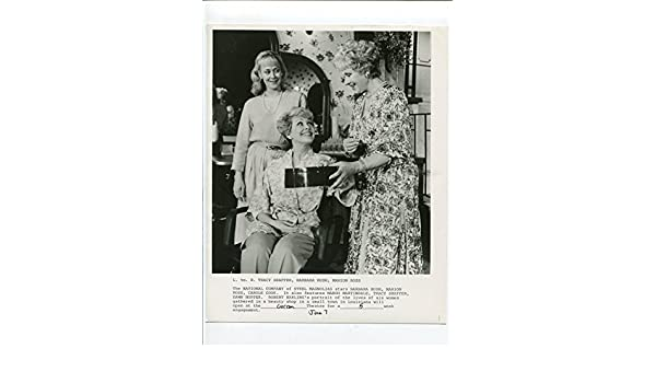 MOVIE PHOTO: Steel Magnolias-Tracy Shaffer, Barbara Rush, and Marion Ross-8x10-B&W-Still at Amazons Entertainment Collectibles Store