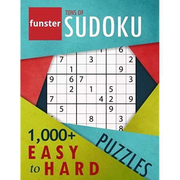 Funster Tons Of Sudoku 1 000 Easy To Hard Puzzles A Bargain Bonanza For Sudoku Lovers Timmerman Charles Funster 9780997092967 Amazon Com Books
