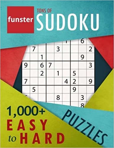Funster Tons of Sudoku 1, 000+ Easy to Hard Puzzles: A