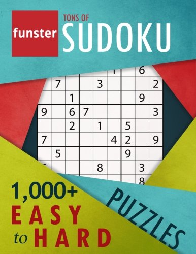 Funster Tons of Sudoku 1,000+ Easy to Hard Puzzles: A bargain bonanza for Sudoku ()
