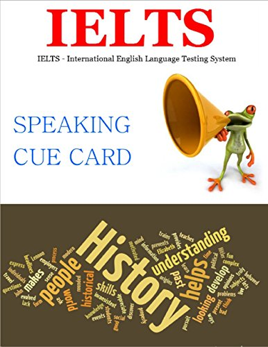 Download Ielts – Speaking Cue Cards History Pdf