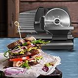Chefman Die-Cast Electric Deli & Food Slicer Cuts