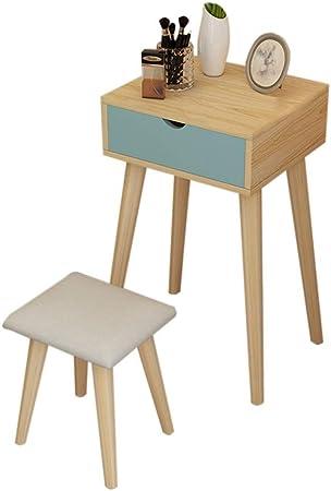 CJX Dressing Tables Étudiant Coiffeuse, Petit Miroir de